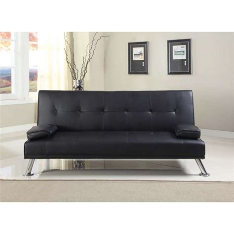 Italian Leather Sofa Bed Claviere Italian Styled Sofa Bed