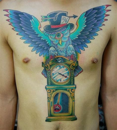 owl tattoo clock eyes owl tattoos are not for everyone best tattoo ideas