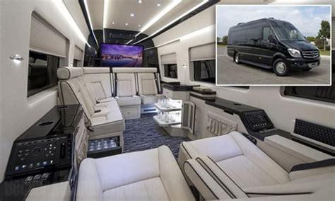 mercedes private jet  vans