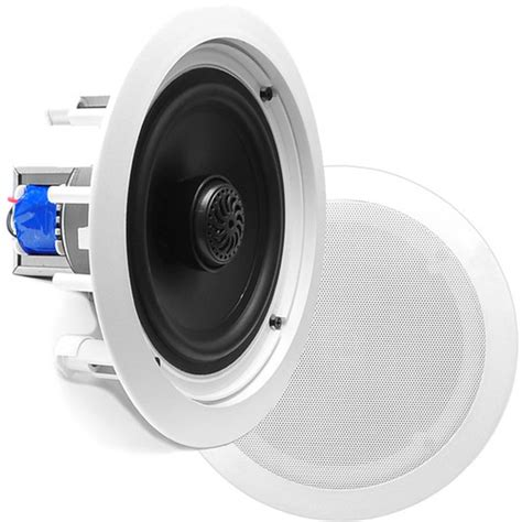 pyle pro pdic80t 8 quot two way in ceiling speaker pdic80t b h
