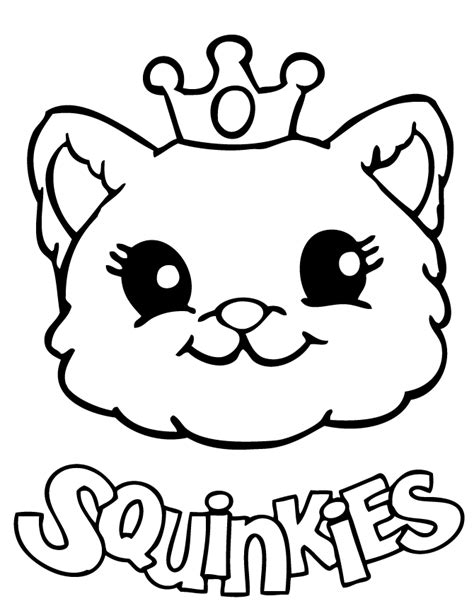 cute caterpillar coloring pages cute squinkies cat coloring page h m coloring pages