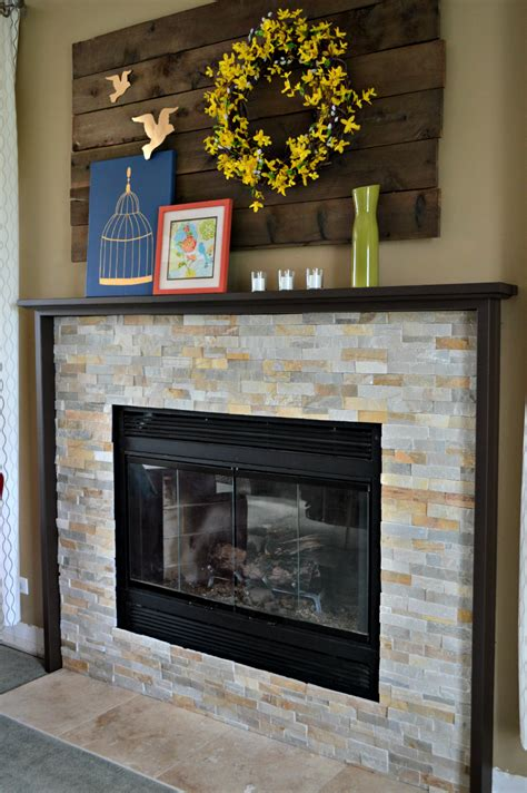 Diy Fireplace our diy fireplace mantel laughing abi