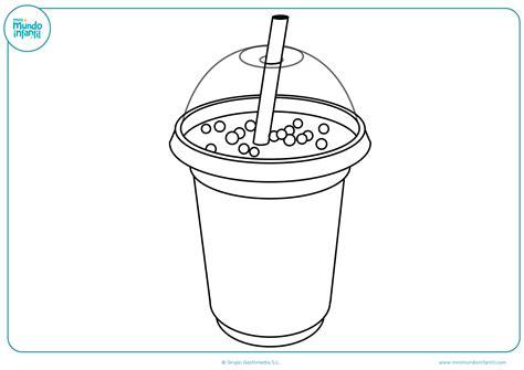 Dibujos De Bebidas Para Colorear | dibujos de bebida para colorear mundo primaria