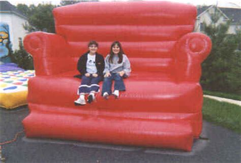 giant inflatable sofa amusements unlimited party rentals maryland virginia