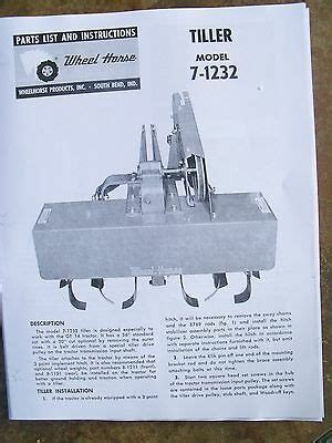 Amf Western Tool 36 Quot 8 H P Riding Mower Parts Manual 6