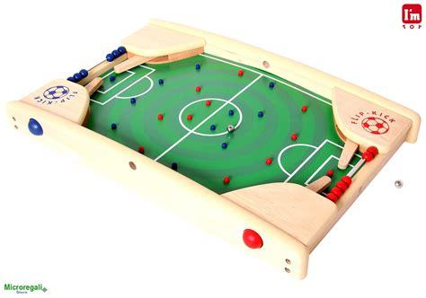 flipper da tavolo flipper calcio da tavolo in legno cm 58x40x8 gioco per