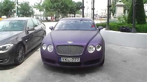 matte purple bentley matte purple bentley continental gt walkround