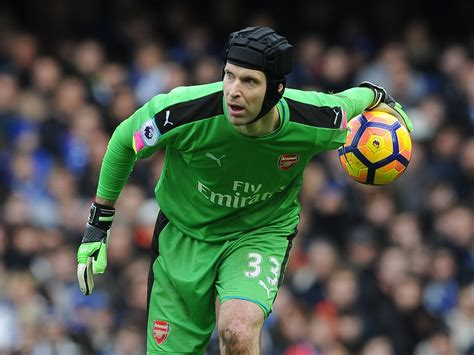 arsenal goalkeeper arsenal goalkeeper petr cech sends message of support to