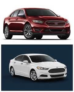 Ford Fusion Vs Taurus Ford Fusion Vs Ford Taurus
