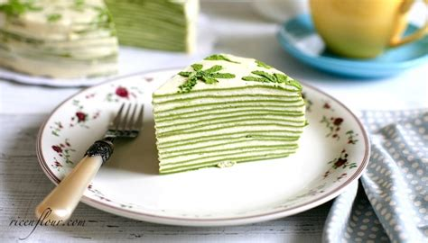 Mille Crepes Cake matcha mille crepe cake recipe green tea flavoured crepe
