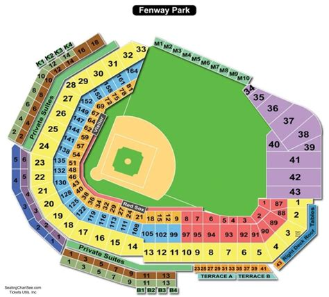 fenway park seating views fenway park seating chart seating charts and tickets