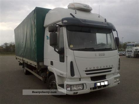 iveco 80e21 large sleeping cabin heater 2005 stake