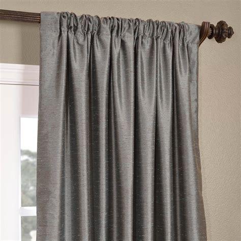 Faux Silk Dupioni Curtains Buy Pacific Yarn Dyed Faux Dupioni Silk Curtains