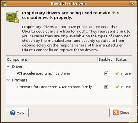 how to uninstall ndiswrapper ubuntu on the dell inspiron 1501 november 2007