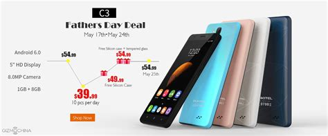 aliexpress offers oukitel c3 father s day special deal on aliexpress more