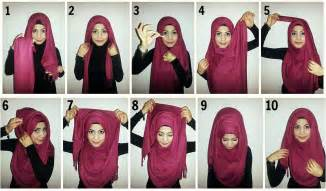 Latest and new hijab style step by step tutorials of 2016 17