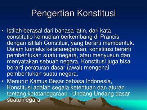 Bukiu Konstitusi Dan Konstitusionalisme Indonesia ppt proklamasi kemerdekaan dan konstitusi pertama