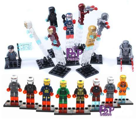 Block Lego Minifigure Iron 1 Set 8 Pcs Termurah buy sy210 new marvel heroes assemble minifigure 4