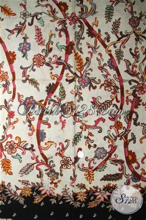 Kain Batik Katun Dasar Putihan kain batik tulis dasar putih bahan katun halus batik shop k1788tmh 240x110cm