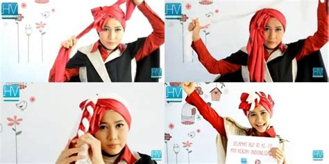 tutorial hijab mama amy video tutorial hijab turban segi empat pesta edisi hut