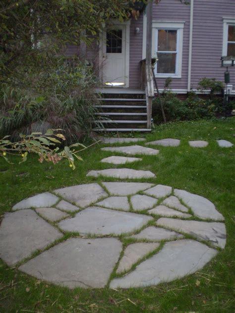 Patio Step Stones by Maine Stonework Masonry Hardscaping Perennial