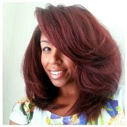 hairstyles for blowed out hair voluminous natural hair blow out hair pinterest