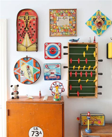 home design board games wall decoration from old board games