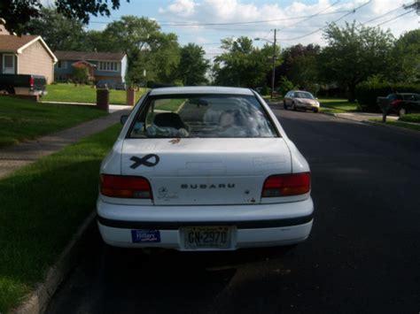 1994 subaru impreza base sedan 4 door 1 8l for sale in thorofare new jersey united states