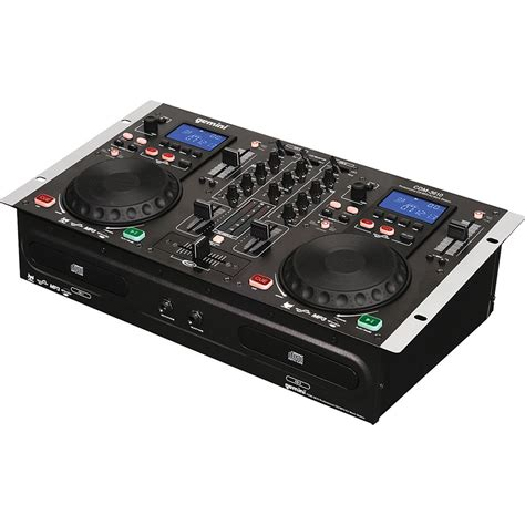 console gemini gemini cdm 3610 dual cd mixing console cdm 3610 b h photo