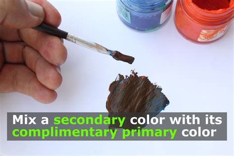 what color does brown and blue make 6 easy ways to make brown from primary colors wikihow