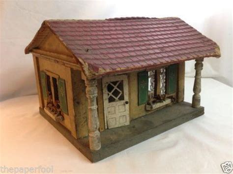 old wooden doll house old wood dollhouse ebay