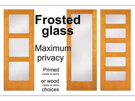 interior wood door with frosted glass panel interior doors glass doors barn doors office doors