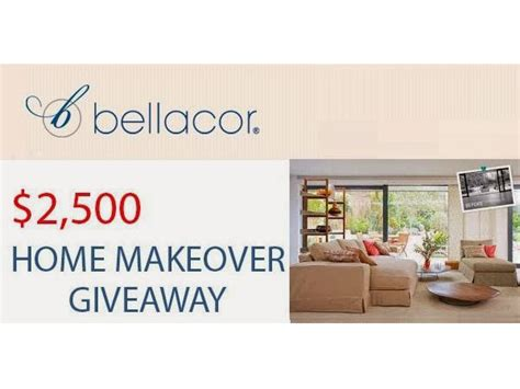 bellacor 2 500 home makeover giveaway blissxo