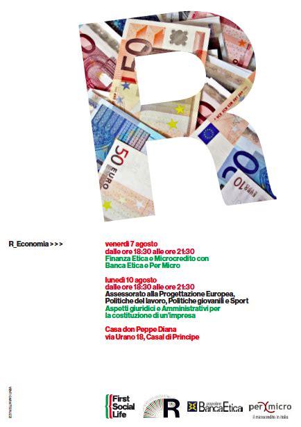 microcredito etica quot finanza etica e microcredito quot a casal di principe permicro