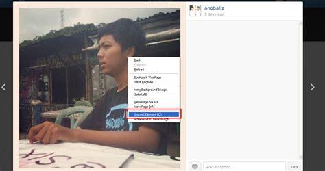 tutorial gambar instagram di blog cara menyimpan gambar di instagram noballz blog