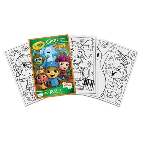 crayola giant coloring pages target crayola 174 giant coloring pages dc superhero girls target