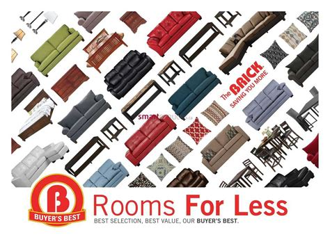 rooms for less the brick rooms for less flyer april 28 to august 31
