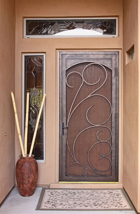 Front Screen Door Pin By Krys De Scribner On Front Door Make Ideas