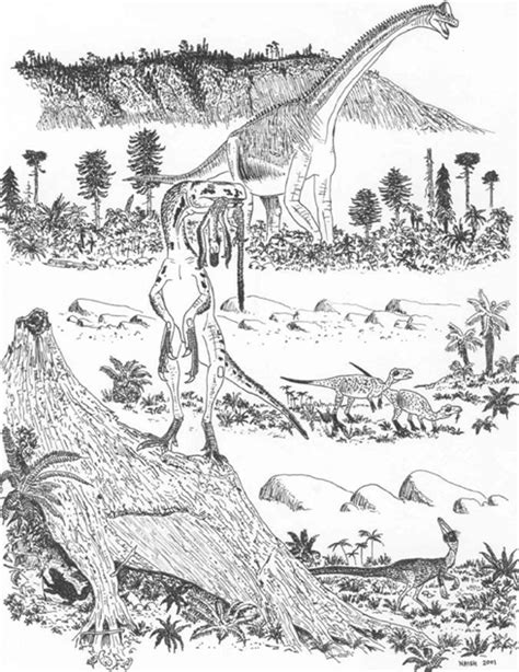 Hard Dinosaur Coloring Pages | hard dinosaurs colouring pages