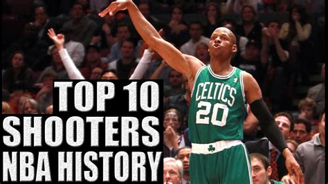 best shooter top 10 best shooters in nba history sports top 10