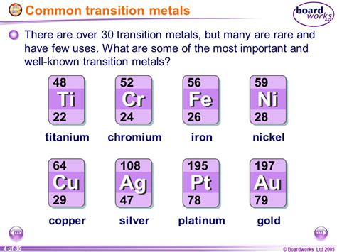 the metallurgy of the common metals gold silver iron copper lead and zinc classic reprint books ks4 chemistry transition metals ppt