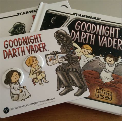 goodnight darth vader goodnight darth vader book pin set giveaway out with