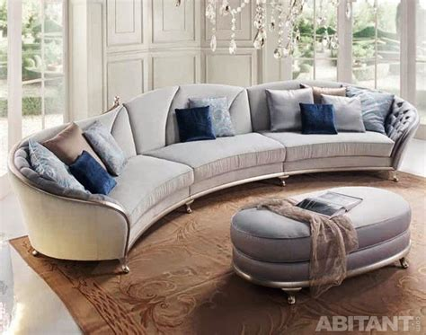 contemporary curved sectional sofa epic contemporary