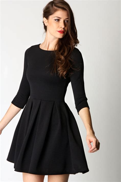Dress Longsleeve sleeve skater dress picture collection dressed up