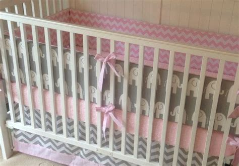 pink and grey elephant crib bedding crib bedding set gray white baby pink elephant new baby
