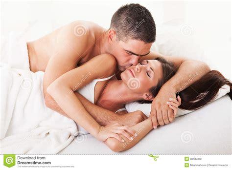 girls kissing girls in bed good morning stock photo image 38539320