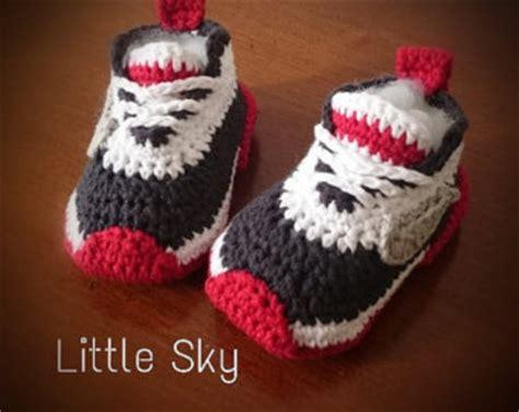 pattern crochet nike booties nike baby crochet shoes etsy