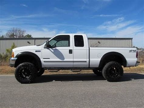 2000 Ford F250 Diesel by 2000 Ford F 250 Duty Diesel Lariat Lifted Truck