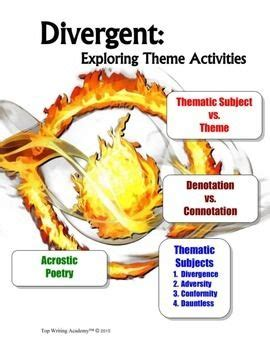 theme essay for divergent 11 best ms activities images on pinterest english