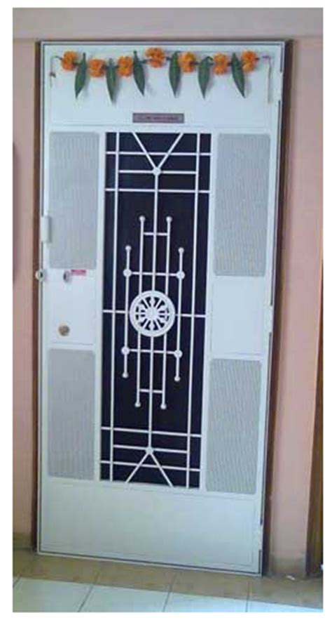 safety door design safety door ashok chakra design at rs 13500 piece s
